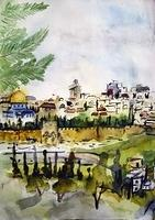 Eye on the Old City of Jerusalem